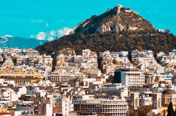 Lykabettus hill in Athens