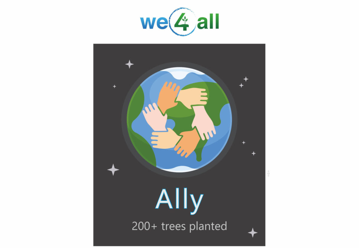 we4all ally status and logo